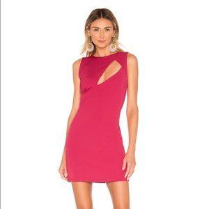 NWT NBD Phoebe Mini Dress Fuschia